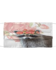 TH 2 Raccoon Lady Cloth face mask front
