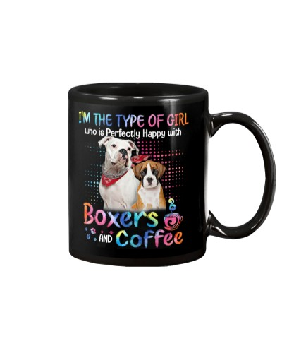 Boxers coffee color mug