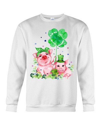 Pig And Saint Patricks Day