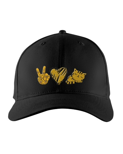Ln cat peace and love hat
