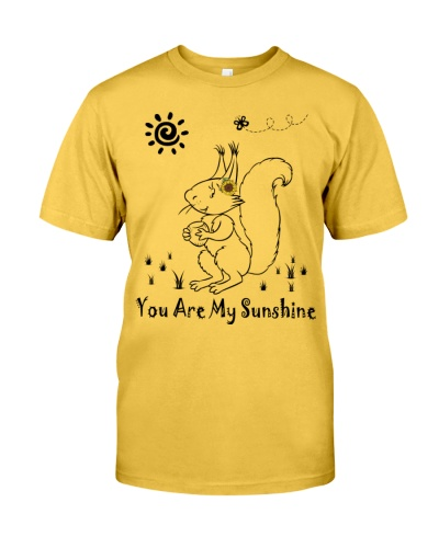 Squirrel sunshine shirt
