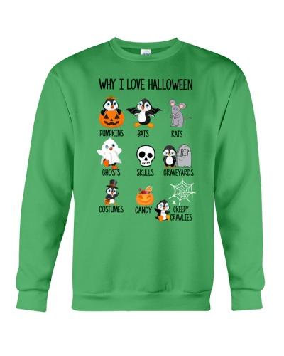 Penguin why i love halloween