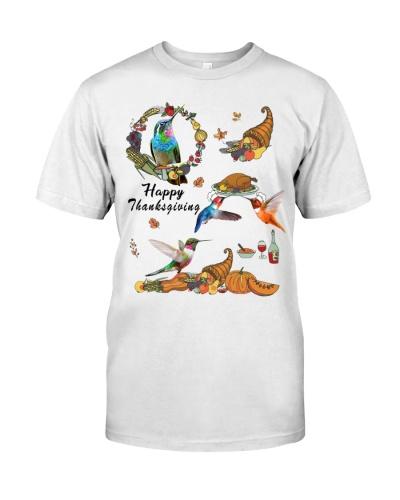 Hummingbird happy thanksgiving
