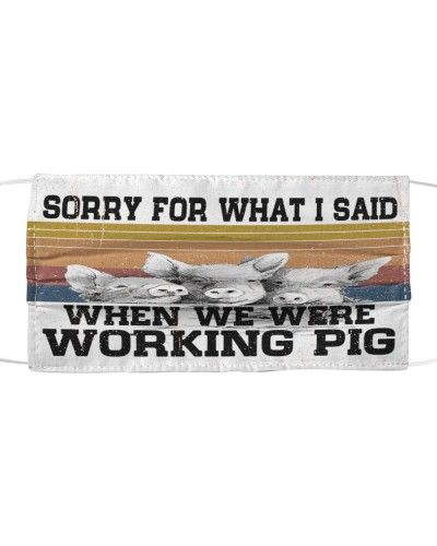 Th 12 working pig