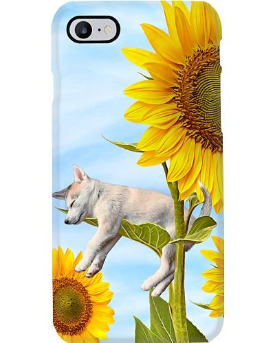 Siberian Husky Sunflower