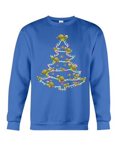 Turtle funny christmas tree