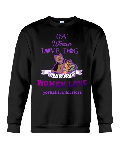 Qhn Awesome Women Love Yorkshire Sweat Shirt
