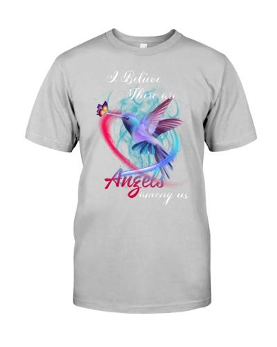 SHN Angels among us Hummingbird shirt