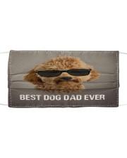Th 5 Goldendoodle Best Dog Dad Ever Cloth face mask front