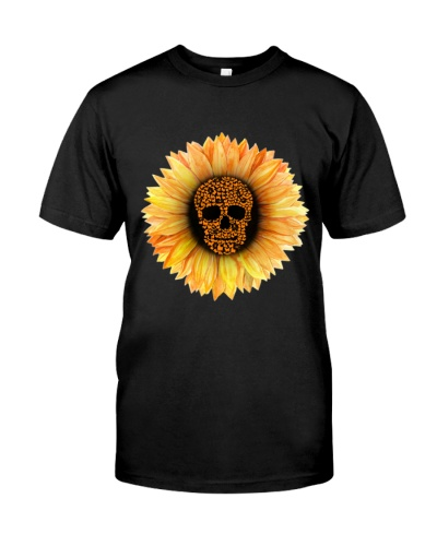 Shih tzu skull sunflower
