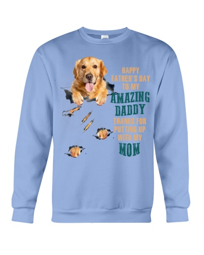 SHN Happy father's day amazing Golden Retriever