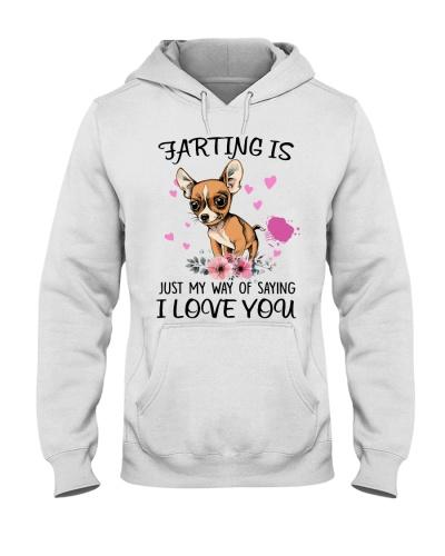 Chihuahua saying i love you