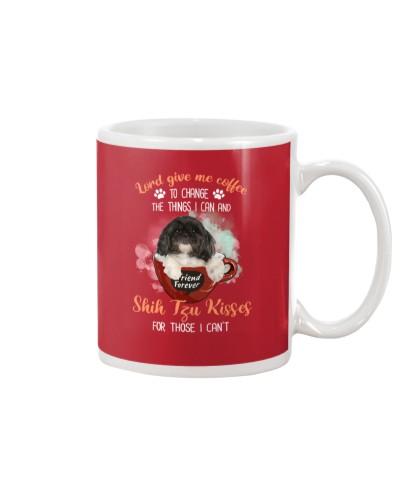 Shih Tzu Kisses And Coffee