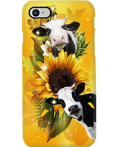 Sunflower With Cows