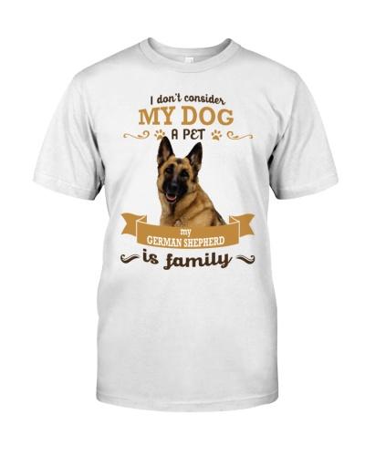 German Shepherd is family