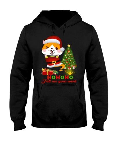 Qhn 8 Tell Me Your Wish Christmas Corgi Hoodie