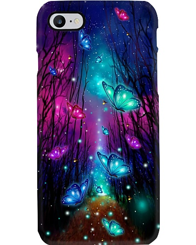 Qhn 7 Fairytale Forest Butterfly Phone Case