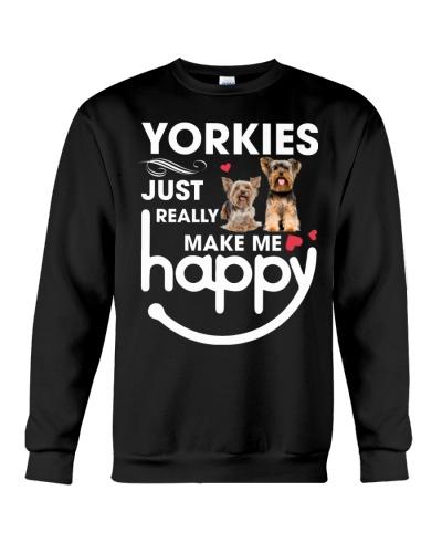 Yorkies just really make me happy