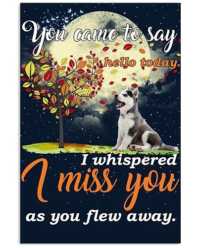 Husky miss you