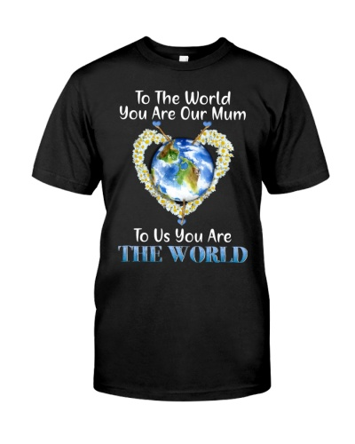 SHN 5 To us your are the world Mother
