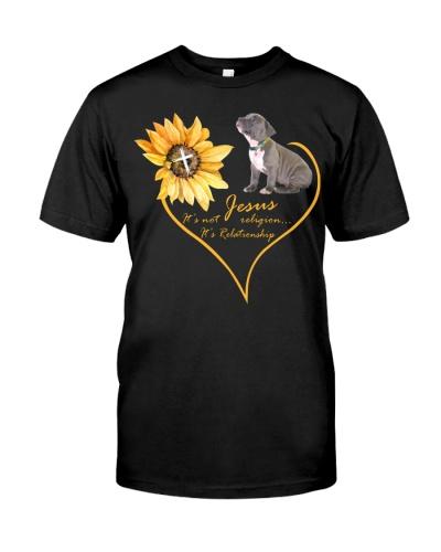 Pitbull jesus relationship shirt