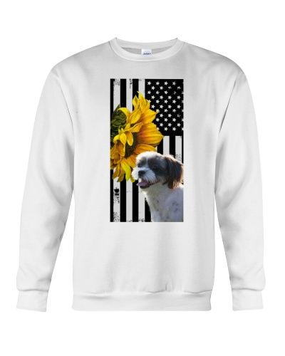Ln Shih Tzu Freedom Sunflower Phone Case