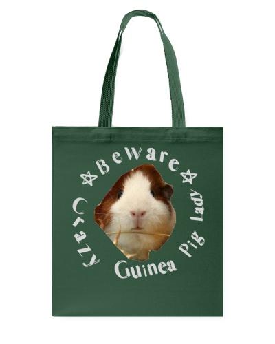 beware crazy guinea pig lady