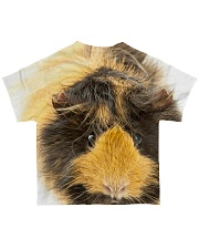 Guinea pig face All-over T-Shirt back