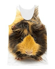 Guinea pig face All-Over Unisex Tank tile