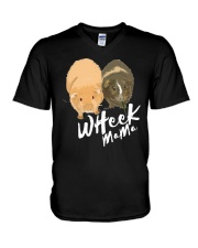 Wheek mama shirt V-Neck T-Shirt thumbnail