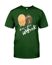 Have a nice wheek guinea pig parody Classic T-Shirt tile