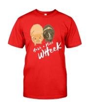 Have a nice wheek guinea pig parody Classic T-Shirt tile