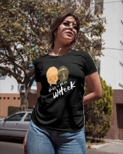 Have a nice wheek guinea pig parody Ladies T-Shirt apparel-ladies-t-shirt-lifestyle-02