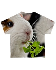 Guinea pig cute face All-over T-Shirt back