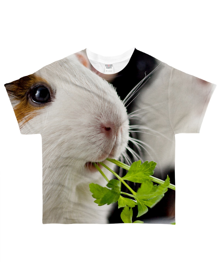 Guinea pig cute face All-over T-Shirt