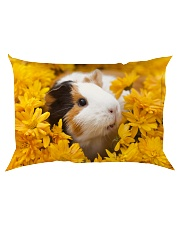 Pillow case floral Rectangular Pillowcase back