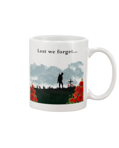 Remembrance Day Lest We Forget Poppy