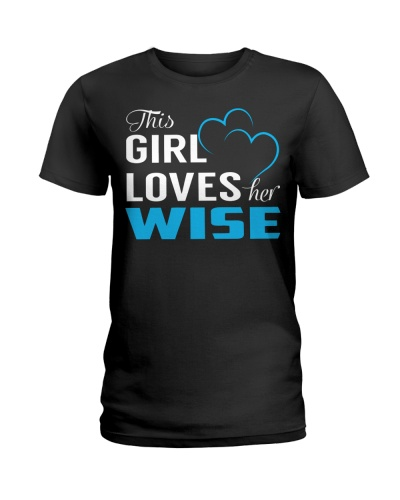 THIS GIRL LOVES HER WISE Limited Edition