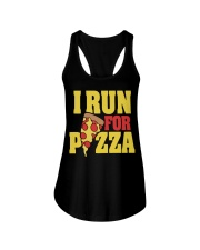 Pizza Ladies Flowy Tank front