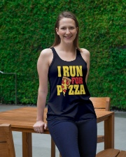 Pizza Ladies Flowy Tank lifestyle-bellaflowy-tank-front-1
