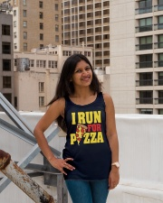 Pizza Ladies Flowy Tank lifestyle-bellaflowy-tank-front-3
