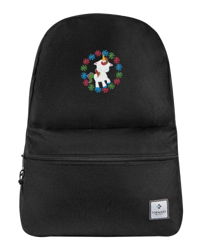 Backpack Unicorn Christmas