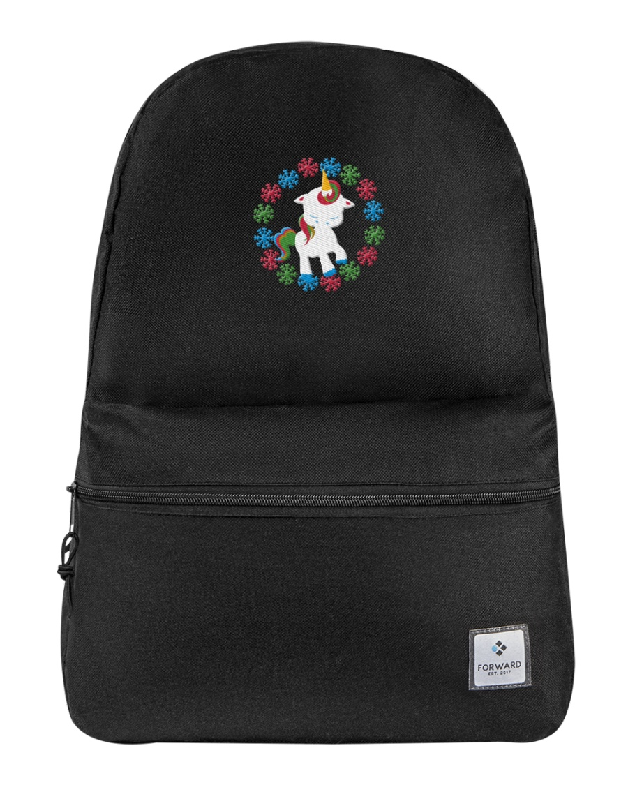 Backpack Unicorn Christmas Backpack