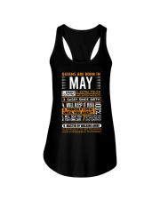 Queens Are Born in May Ladies Flowy Tank thumbnail