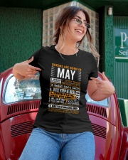 Queens Are Born in May Ladies T-Shirt apparel-ladies-t-shirt-lifestyle-01