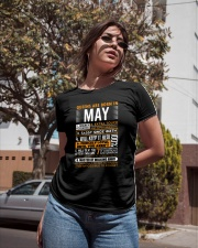 Queens Are Born in May Ladies T-Shirt apparel-ladies-t-shirt-lifestyle-02