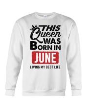 June Queen Crewneck Sweatshirt thumbnail