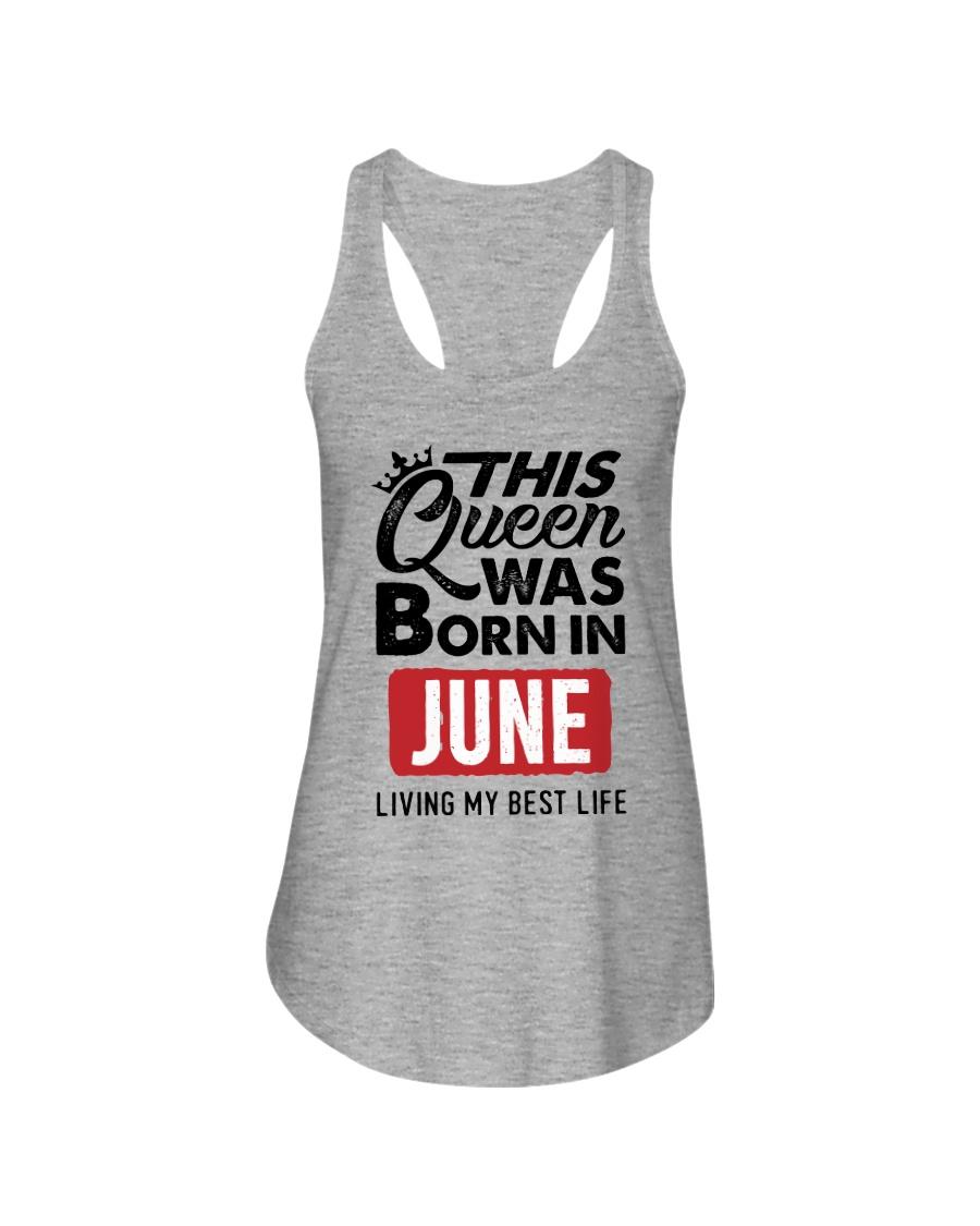 June Queen Ladies Flowy Tank