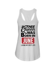 June Queen Ladies Flowy Tank thumbnail