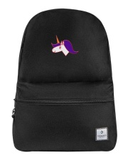 Backpack Unicorn face Backpack front